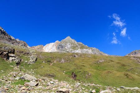 hohe tauern: Mountain Zopetspitze in Hohe Tauern Alps, Austria