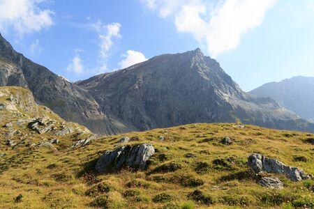 tauern: Mountain Saulkopf in Hohe Tauern Alps, Austria Stock Photo