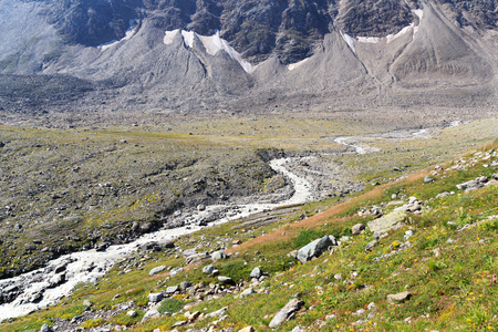hohe tauern: Rapid mountain stream in Hohe Tauern Alps, Austria