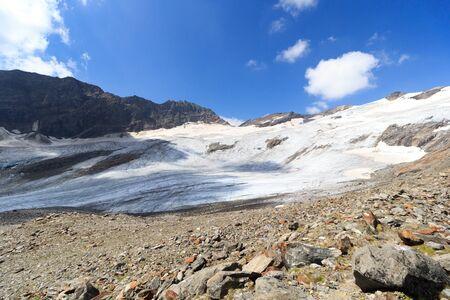 tauern: Mountain glacier panorama in Hohe Tauern Alps, Austria