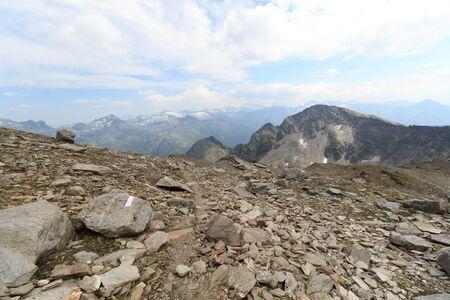 hohe tauern: Mountain panorama in Hohe Tauern Alps, Austria