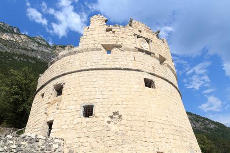 Bastione Riva del Garda fortification in Italy