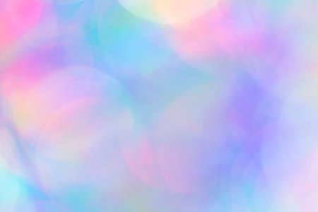 close up blurred bokeh detail of holographic foil abstract backdrop for your project