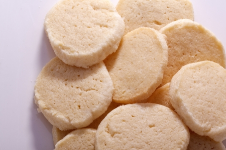 sweet homemade delicious shortbread for coffee break
