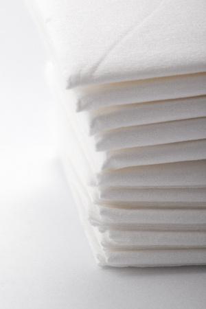 handkerchiefs:  soft fluffy white paper  handkerchiefs for flu
