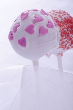 Cakepop sweet dessert for love wedding and yalentines day