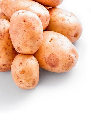natural  organic potato vegetable  plant Stock Photo - 19246874