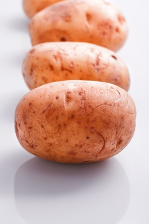 natural  organic potato vegetable  plant Stock Photo - 19417951