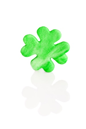 st patricks day green sugar shamrock photo