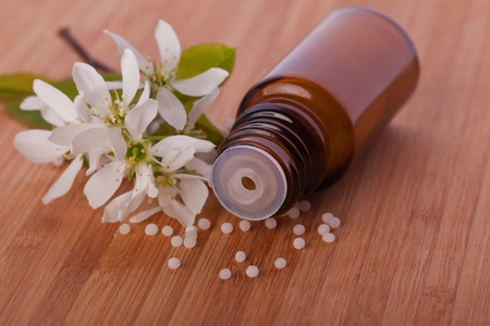 globule: white blossom homeopathic therapy  globule