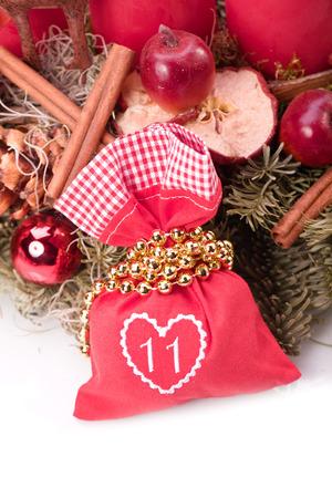 advent calendar christmas gift bag number eleven photo