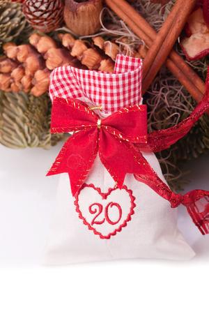 advent calendar christmas gift bag number twenty photo