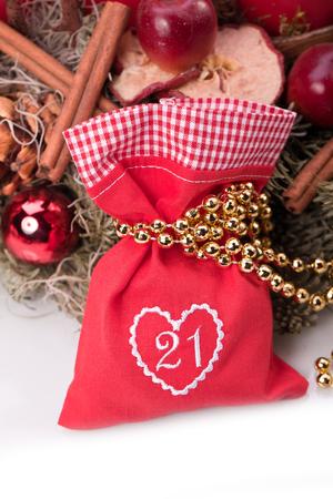 advent calendar christmas gift bag number twentyone photo