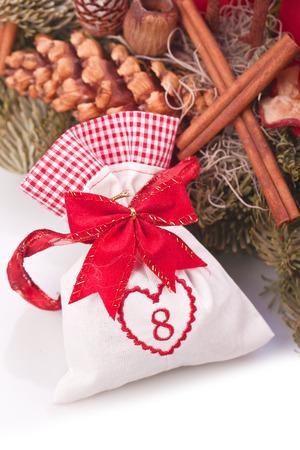 advent calendar christmas gift bag number eight photo