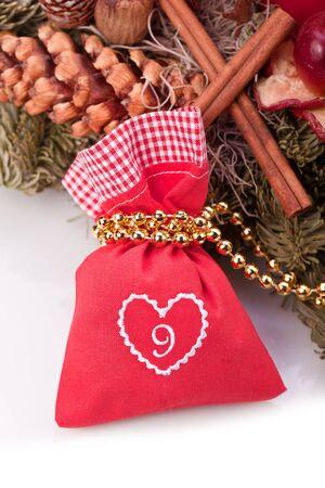 advent calendar christmas gift bag number nine photo