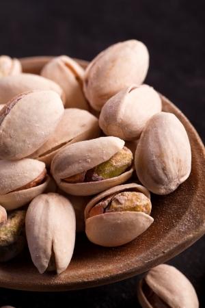 nutshell: healthy salted pistachios in a nutshell