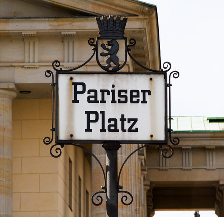 Street Name Sign, City Street, Iron - Metal, Road Sign, Berlin