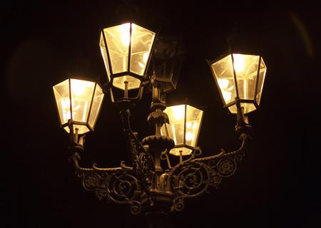 Warm Street Lamp in Berlin
