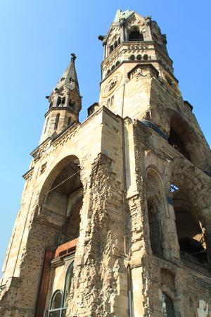Berlin, Kaiser Wilhelm Memorial Church, Breitscheidplatz Square, Built Structure, Capital Cities