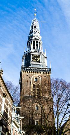 Oude Kerk (Old Church) in Amsterdam, Netherlands.