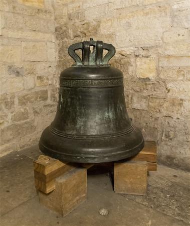 Old Church Bell in Prague, Czech Republic 版權商用圖片