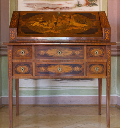 Antique furniture. The secretary