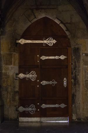 Antique castle door