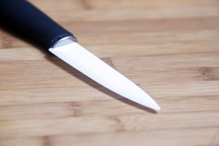 nahaufnahme: Keramikmesser