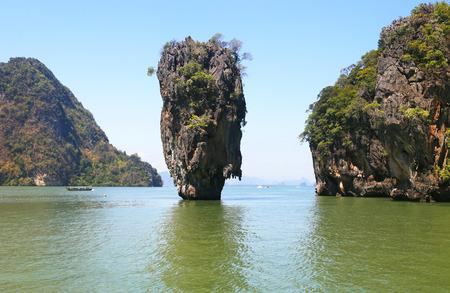asien: Ko Tapu, James Bond Island, Phang Nga Bay, Thailand, Asien