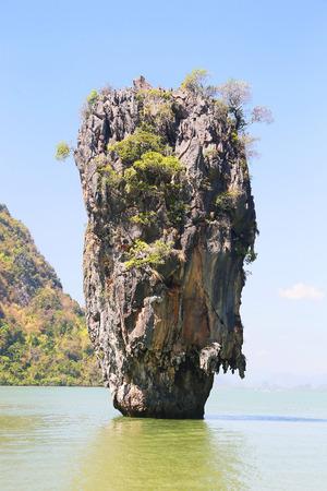 reisen: Ko Tapu, James Bond Island, Phang Nga Bay, Thailand, Asien