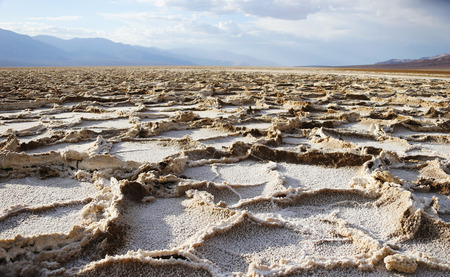 badland: Death Valley, Death Valley, Badwater Basin, USA, United States of America