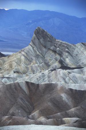 badland: Death Valley, Death Valley, California, USA Stock Photo
