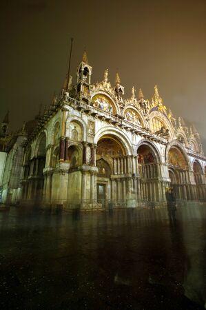 tourismus: Venice by Night, Italy, Europe