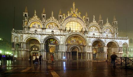 baukunst: Venice by Night, Italy, Europe
