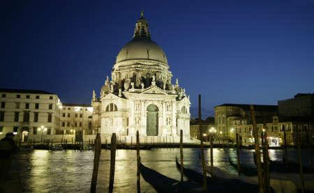 Hintergrund: Santa Maria della Salute, Venedig, Italien
