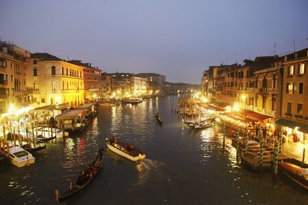 baukunst: Canal Grande in Venice, Italy Europe