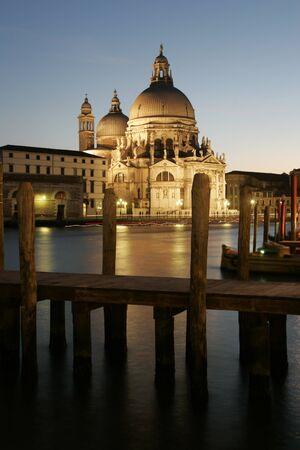 italien: Santa Maria Della Salute, Venedig, Italien Editorial