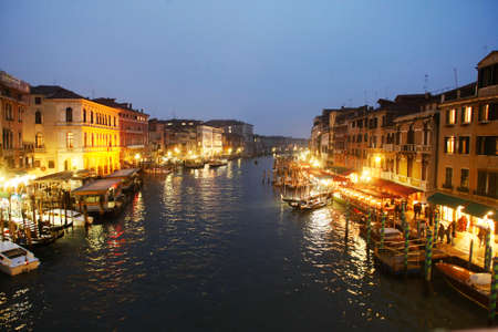 tourismus: Canal Grande in Venice, Italy Europe