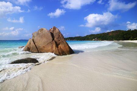 strand: Strand Anse Lazio, Praslin, Seychellen, Afrika, Indischer Ozean