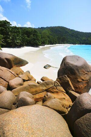 lazio: Strand Anse Lazio, Praslin, Seychellen, Afrika, Indischer Ozean