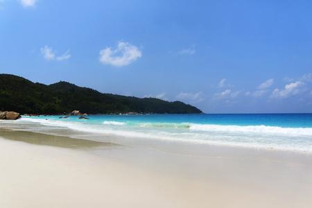 afrika: Strand Anse Lazio, Praslin, Seychellen, Afrika, Indischer Ozean