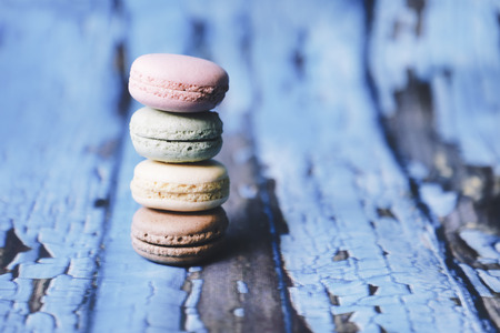 Macarons in different colours