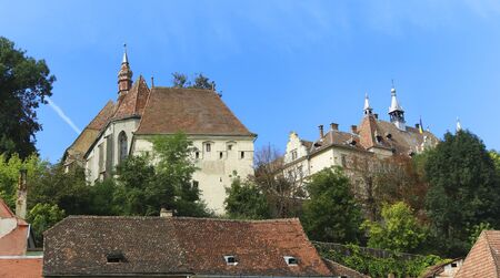 The City of Sighisoara in Romania, Europe