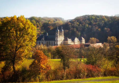 The monastery Schöntal in Hohenlohe, Germany, Europe