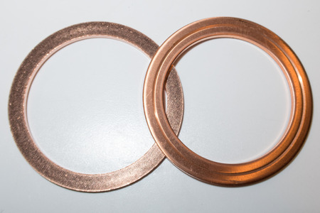 cf: One time copper seals used to achieve ultra high vacuum in a physics science lab