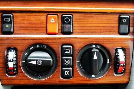 regulators: Climate control buttons and regulators