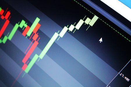 bullish: Bullish stock market chart