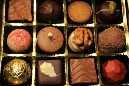 upper class: Chocolate collection