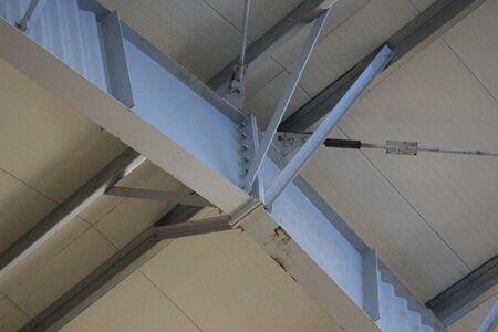 Metallic beams connection Standard-Bild