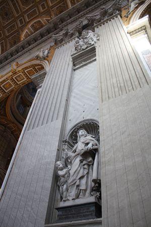 peter's: St. Peters Basilica Stock Photo